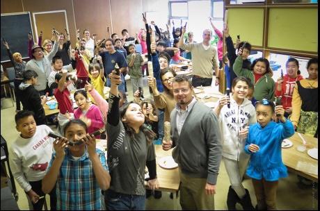 Cultural Appreciation: Thank you Sang Kim, Dundas Junior Public School and Toronto First Nations Public School 2014
